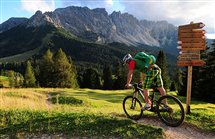 Mountainbiken in der Ferienregion Eggental